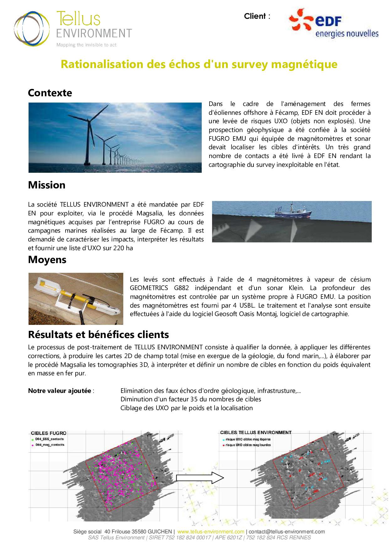 10 Tellus Environment Recherche dUXO Mag p001 - Tellus Environment