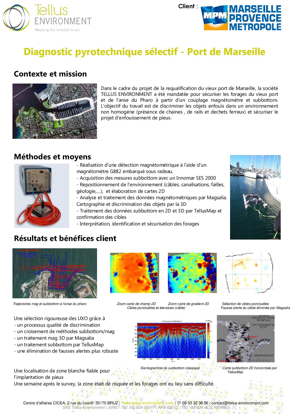 13 Tellus Environment Diagnostic pyrotechnique sélectif Mag Subbotom p001 - Tellus Environment