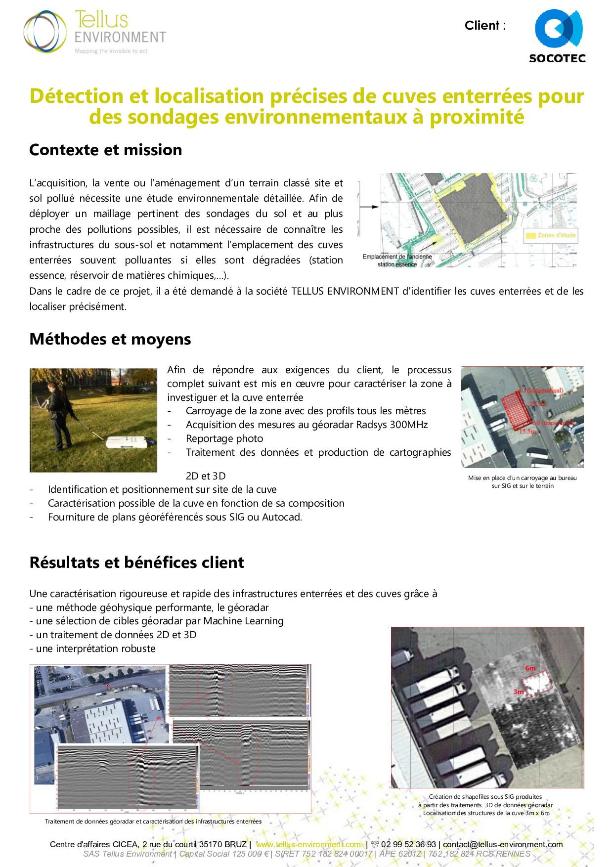 17 Tellus Environment Localisation de cuves enterrées Radar p001 - Tellus Environment