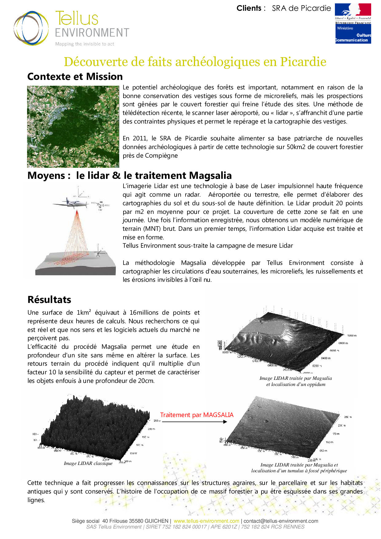 4 Tellus Environment Découverte archéologique aéroporté Lidar p001 - Tellus Environment