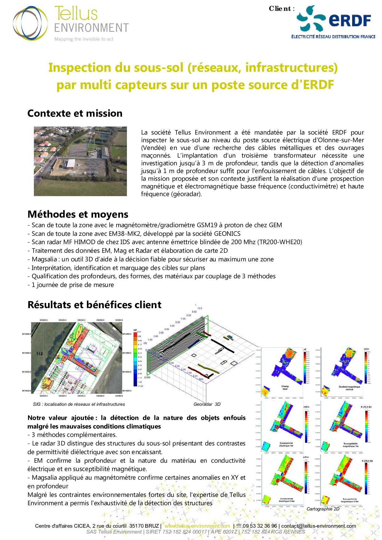 5 Tellus Environment Détection de réseaux Mag EM Radar p001 - Tellus Environment