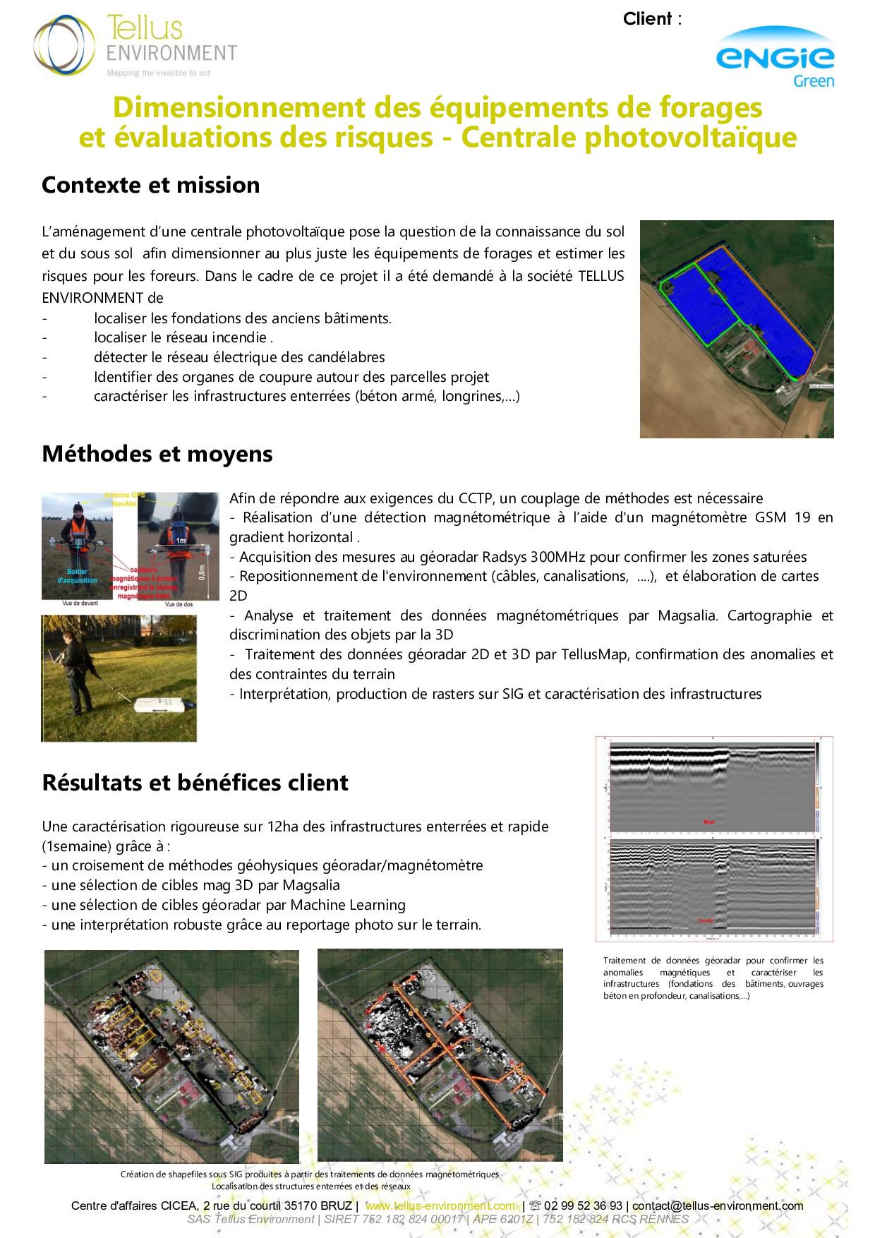 7 Tellus Environment Recherche dinfrastructures enfouies pour dimensionner les équipements de forage Radar Mag p001 - Tellus Environment